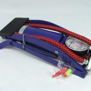 nožna pumpa za gume s nastavcima
